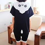 Детский летний кигуруми панда (рост 130,140 см) v9959, фото 3