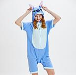 Летняя пижама кигуруми стич детский (рост 130,140 см) v9961, фото 3