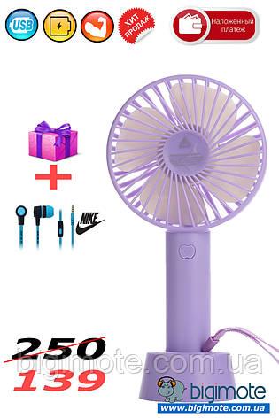 МОЩНЫЙ вентилятор,мини вентилятор,портативный вентилятор, USB вентиялтор, фото 2