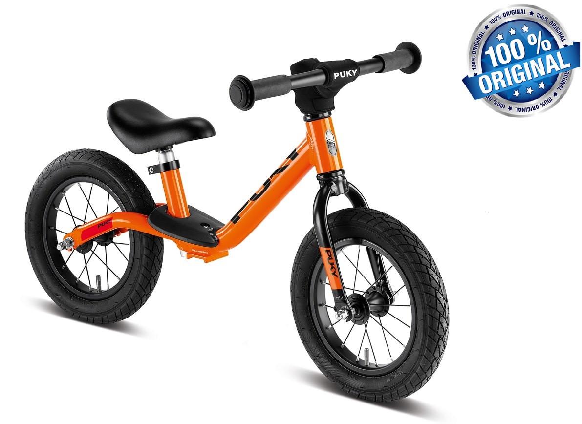 Беговел велобег детский PUKYLR Light (Германия), оранжевый