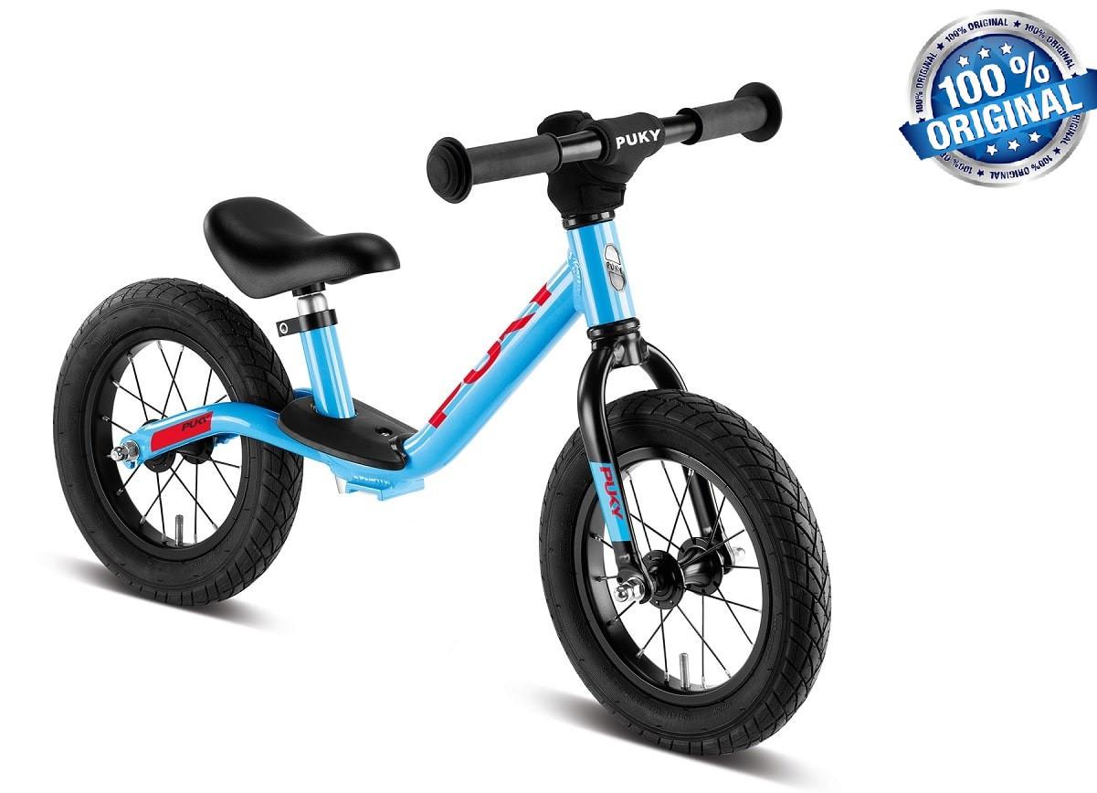 Беговел велобег детский PUKYLR Light (Германия), голубой