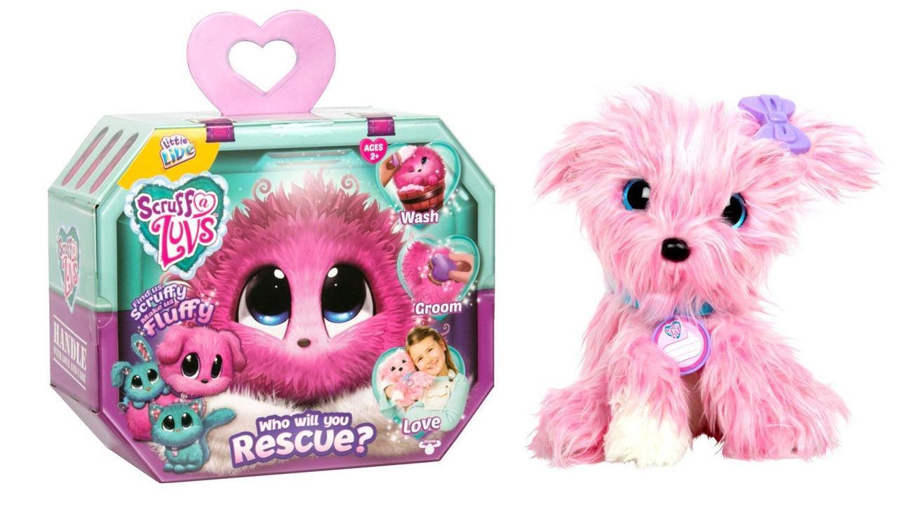 Мягкая игрушка потеряшка Little Live Scruff-a-Luvs Mystery Rescue Pet Оригинал из США