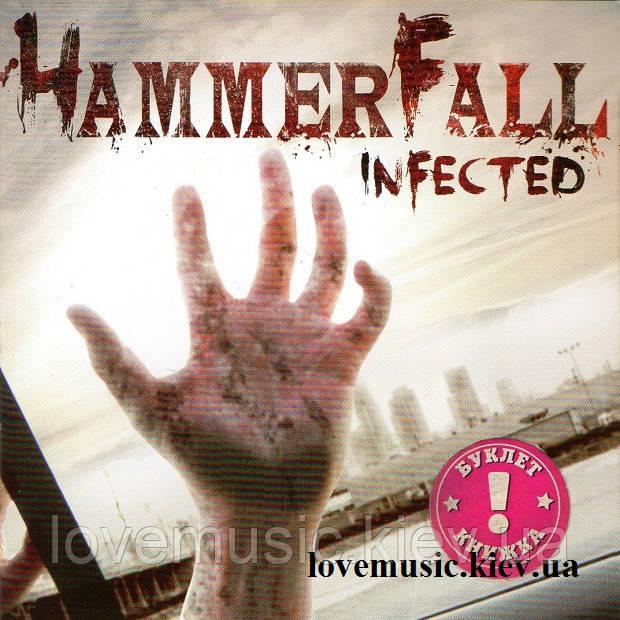 Музичний сд диск HAMMERFALL Infected (2011) (audio cd)