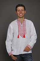 Мужская рубашка с вышивкой М16-212, фото 1