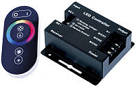 RF RGB контроллер Touch Series  радио с сенсорным пультом для светодиодной ленты, фото 1