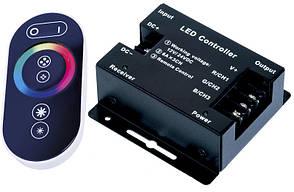 RF RGB контролер Touch Series радіо з сенсорним пультом для світлодіодної стрічки