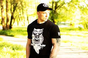 Мужская Футболка Miracle owl black, фото 2