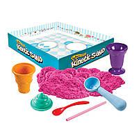 Набор с кинетическим песком  Ice cream розовый, 283 г, Kinetic Sand & Kinetic Rock (71417-1)