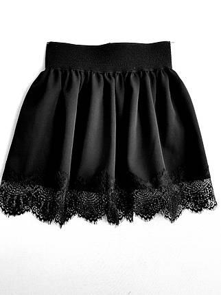 Юбка черная, фото 2