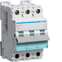 Автоматический выключатель 3п, 16А, C, 10kA, NCN316 HAGER