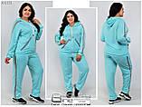 Женский спортивный костюм трикотаж двухнить размеры 54-72, фото 3