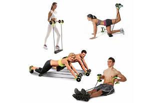 Тренажер для всього тіла, преса, рук, сідниць REVOFLEX XTREME з 6 рівнями тренування PR3