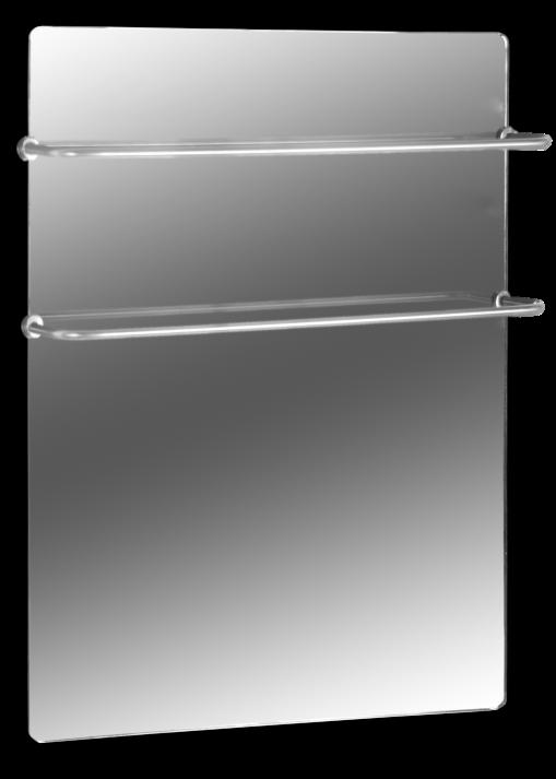 Полотенцесушитель стеклокерамический HGlass Premium 5070 M (зеркальный)