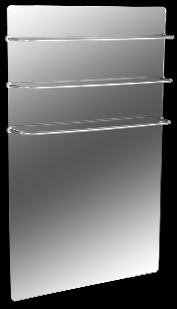 Полотенцесушитель стеклокерамический HGlass Premium 6012 M (зеркальный)