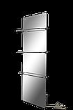 Полотенцесушитель стеклокерамический HGlass Premium 6012 M (зеркальный), фото 2