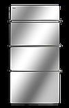 Полотенцесушитель стеклокерамический HGlass Premium 6012 M (зеркальный), фото 3