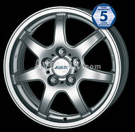 Литые диски Alutec Spyke R14 W6 PCD4x114.3 ET38 DIA70.1 (silver)