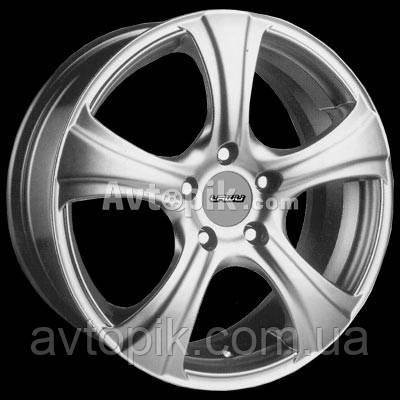 Литые диски Lawu LW-242 R14 W6 PCD5x100 ET38 DIA73.1 (хром)