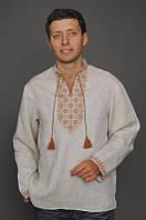 Мужская вышитая рубашка М15-246, фото 1