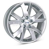 Литые диски Alutec Lazor R15 W6.5 PCD5x100 ET38 DIA63.3 (silver)