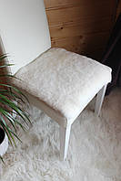 Накидка из меха с короткой шерстью стриженная 40*40 см