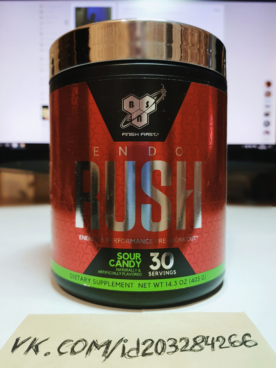 BSN EndoRush 30 порций
