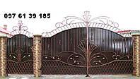 Ворота кованные 22150