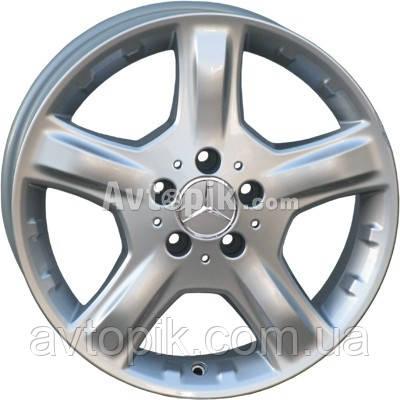 Литые диски For Wheels ME 419f (Mercedes) R20 W8.5 PCD5x112 ET60 DIA66.6 (silver)