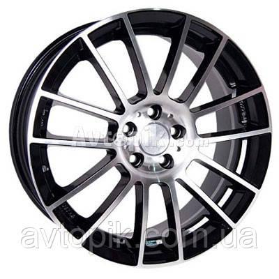 Литые диски Racing Wheels H-408 R17 W7.5 PCD5x100 ET45 DIA73.1 (BK-F/P)