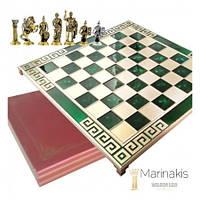 """Шахматы """"Римляне"""" (45 х 45 см) (зеленый). Marinakis 086-4503KG"""