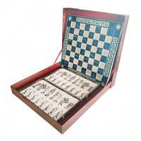 "Шахматы ""Мария Стюарт, Средневековая Англия"" (45х45 см) (синий). Marinakis 086-4501KBL"