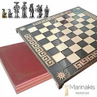 """Шахматы """"Рококо-Средневековая Франция"""" (45х45 см) (коричневый). Marinakis 086-4502KBR"""