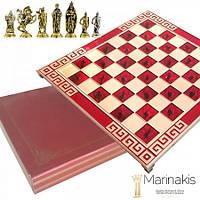 """Шахматы """"Крестоносцы"""" (45х45 см) (красный). Marinakis 086-4504KR"""