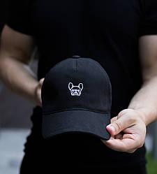 """Мужская кепка Pobedov Cap """"Рug dog"""" черная"""