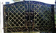 Ворота кованные 19980
