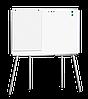 Мобильная доска,  маркерная – 1500х1000 мм; код – 721050