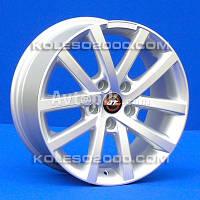 Литые диски JT 1221 R16 W7 PCD5x114.3 ET40 DIA73.1 (silver)