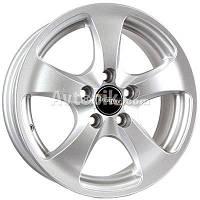 Литые диски Tech Line TL403 R14 W5.5 PCD4x98 ET32 DIA58.6 (silver), фото 1