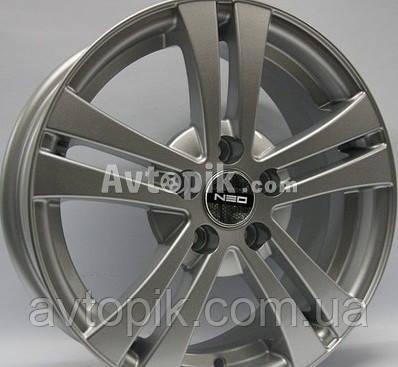 Литые диски Tech Line TL540 R15 W6 PCD5x112 ET40 DIA57.1 (silver)