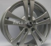 Литые диски Tech Line TL540 R15 W6 PCD5x112 ET40 DIA57.1 (silver), фото 1