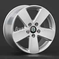 Литые диски Replay Skoda (SK12) R16 W7 PCD5x112 ET45 DIA57.1 (silver)
