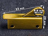 Держатель сумочного ремешка 65-059, цв. антик, фото 1