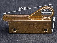 Держатель сумочного ремешка 65-059, цв.золото