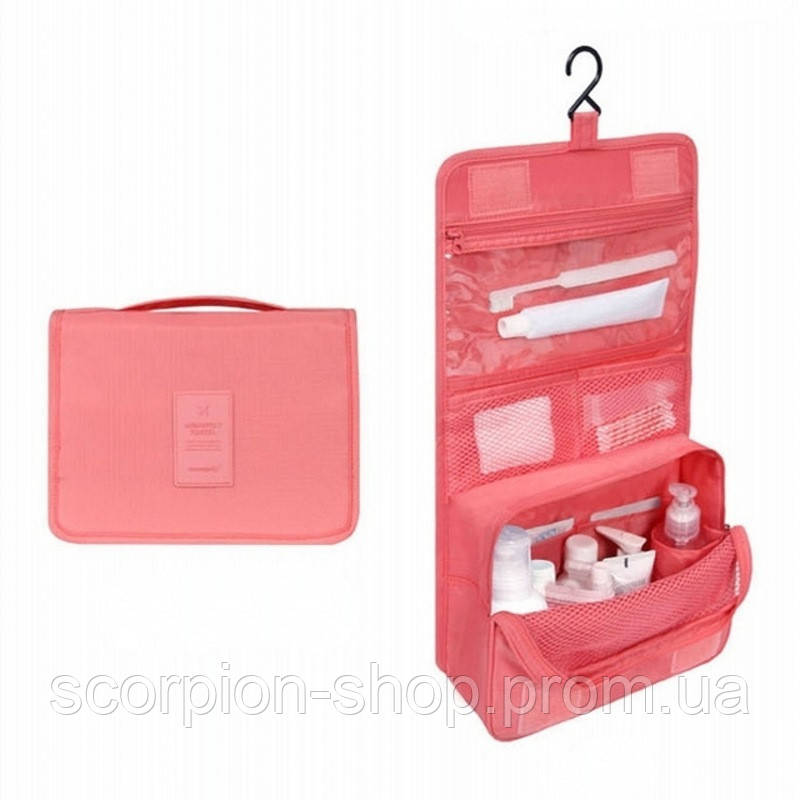 """Дорожный подвесной органайзер для косметики """"Travel bag"""" (24*18.5*9.5 см)"""