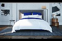 Полуторный постельный комплект stripe blue 50х70, BalakHome