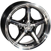 Литые диски League 255 R17 W7 PCD5x112 ET40 DIA73.1 (FMBK)