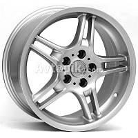 Литые диски WSP Italy BMW (W650) Sofia R18 W8.5 PCD5x120 ET50 DIA72.6 (silver)