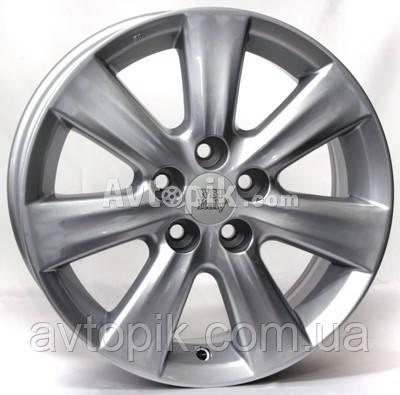 Литые диски WSP Italy ForToyota (W1762) Nemuro R15 W6 PCD5x100 ET33 DIA54.1 (silver)