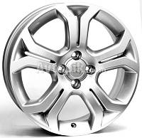 Литые диски WSP Italy Opel (W2505) Caridi R16 W6.5 PCD4x100 ET37 DIA56.6 (silver)