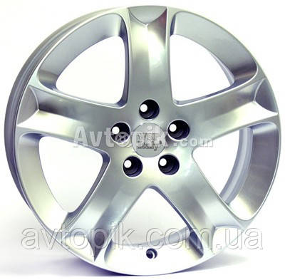 Литые диски WSP Italy Peugeot (W851) Palermo R16 W6.5 PCD5x108 ET35 DIA65.1 (silver)